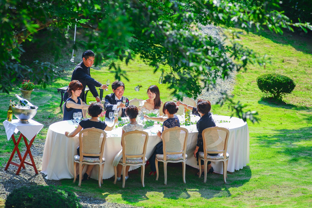 ご家族や親しい方だけで「美食パーティー婚」プラン